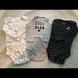 Baby boy bear bundle- 6 pieces! 🐻